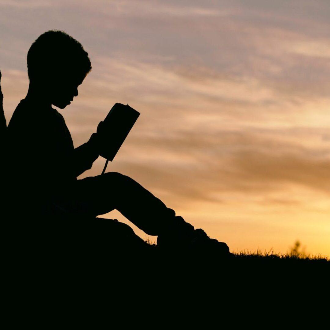 Boy Reading aaron-burden